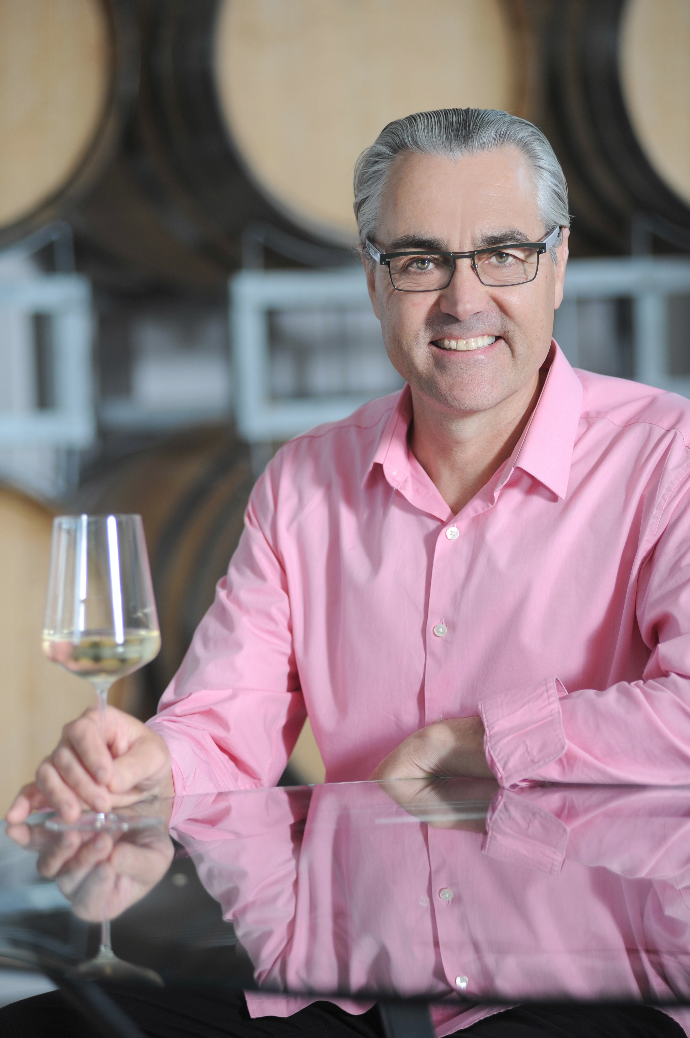 John Belsham, Founder & Winemaker Foxes Island Wines