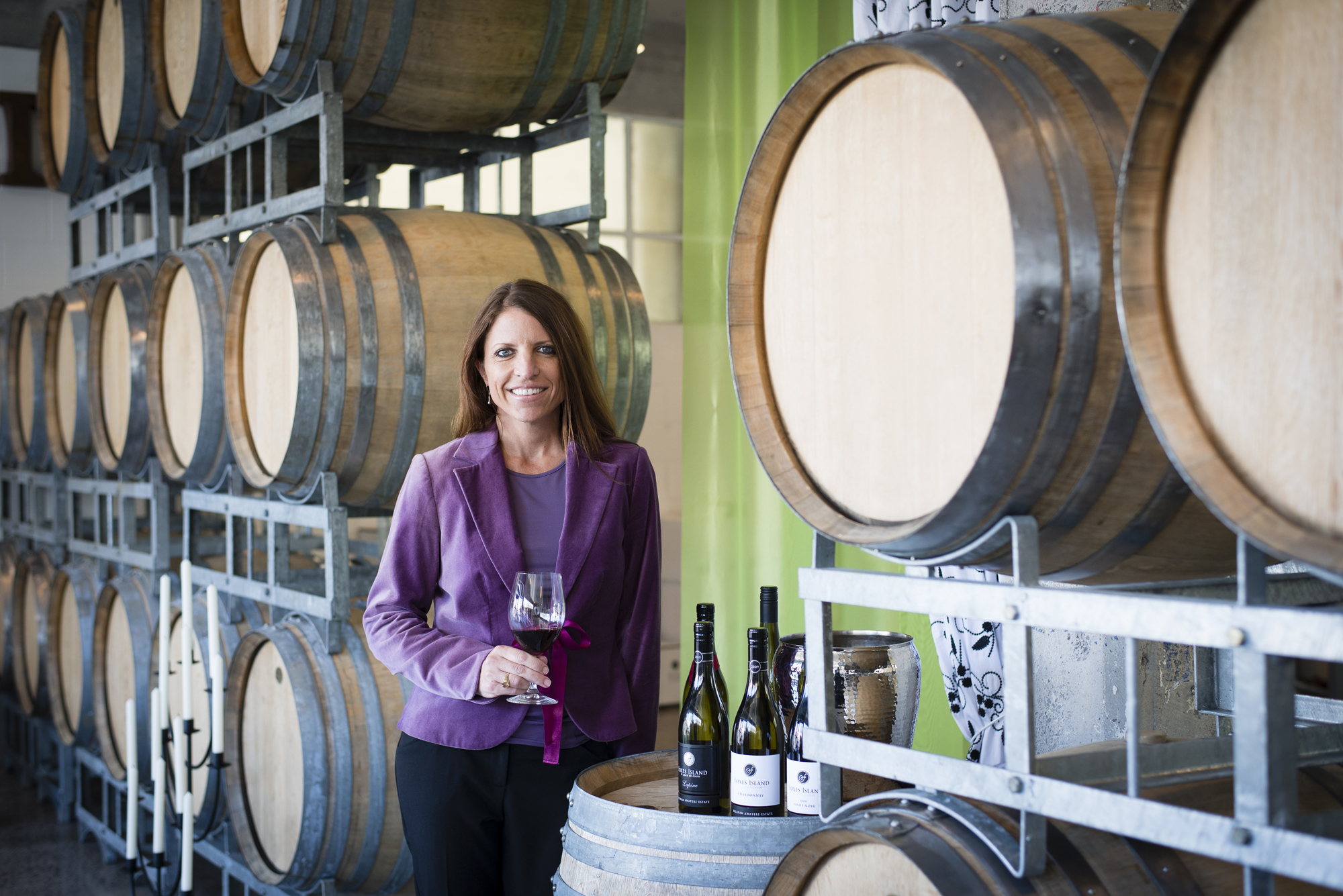 Kelly Brown Foxes Island Wines Cellar Door