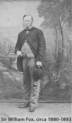 PRIME MINISTER & EXPLORER SIR WILLIAM FOX NEW ZEALAND