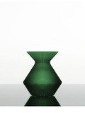 Zalto Denk'Art Vase in Emerald Hand-Blown, Austrian Crystal