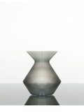 Zalto Denk'Art Vase 50 in Platinum Grey Hand-Blown, Austrian Crystal