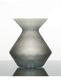 Zalto Denk'Art Vase in Platinum Grey Hand-Blown, Austrian Crystal