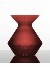 Zalto Denk'Art Crystal Vase in Cherry Red