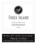 Foxes Island Estate Chardonnay 2007 Library Collection