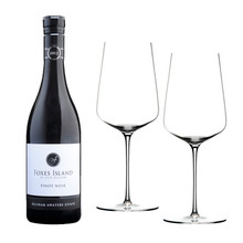 Foxes Island Estate Pinot Noir and Zalto Denk'Art Universal Stems