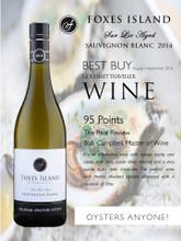 Foxes Island Sur Lie Aged, Sauvignon Blanc 2014 Belsham Awatere Estate