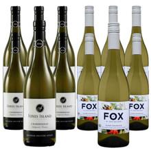 Mixed Dozen, Foxes Island Estate and Fox le petit Chardonnay