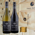 Foxes Island Icons La Lapine Sauvignon Blanc and Le Renard Pinot Noir