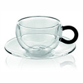 IVV Colors Cappuccino Cup, black handle