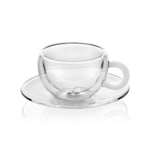 IVV Espresso Cup and Saucer Set