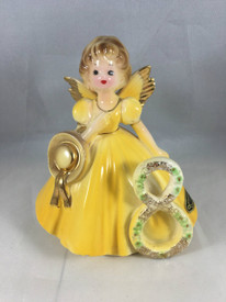 One of the earliest Birthday Dolls from Muriel Joseph George....