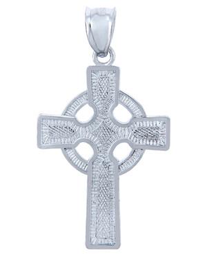 925 Sterling Silver Cross Celtic Pendant
