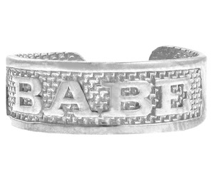 """Silver """"BABE"""" Toe Ring"""