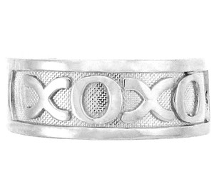 925 Sterling Silver XOXO Toe Ring