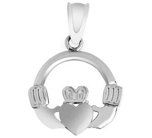 Silver Claddagh Pendant