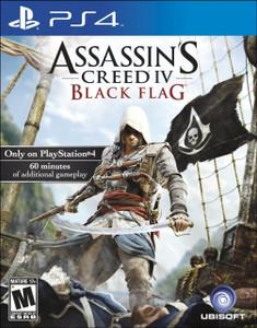 *USED* ASSASSINS CREED IV BLACK FLAG (#008888358114)