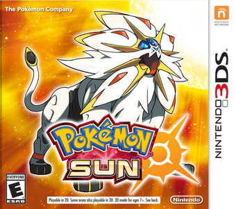 *USED* POKEMON SUN [E] (#045496743925)