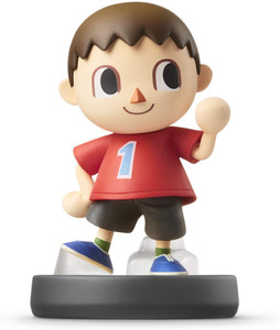 *USED* AMIIBO VILLAGER CHARACTER (#045496891695)