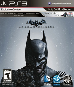 *USED* BATMAN ARKHAM ORIGINS (#883929319688)