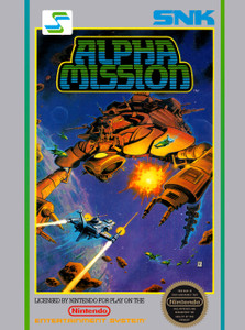 *USED* Alpha Mission (#018484145001)