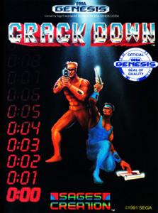 *USED* CRACK DOWN (#072133710005)