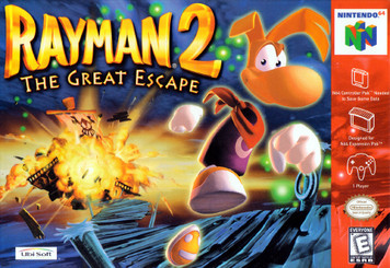 *USED* RAYMAN 2 THE GREAT ESCAPE (#008888130079)