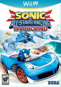 *USED* SONIC ALL STARS RACING TRANSFORMED BE [E10] (#010086671018)