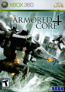 *USED* ARMORED CORE 4 (#010086680126)