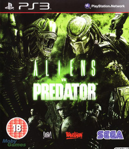 *USED* ALIEN VS PREDATOR CLEARANCE (#010086690385)