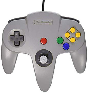 *USED* N64 CONTROLLER 1ST PARTY NEW STICK (ALL COLORS) (#435753797738)
