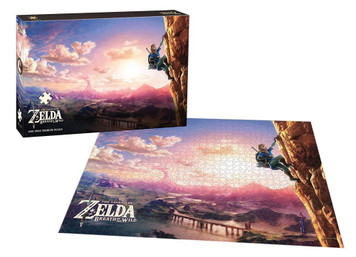 1000 PIECE BREATH OF WILD LINK SCALING PUZZLE (#700304048943)