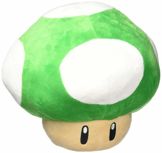 1UP MUSHROOM PILLOW PLUSH (#819996013976)