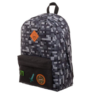 MINECRAFT CAMO BACKPACK (#190371900129)