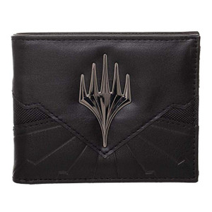 MTG BLACK BIFOLD WALLET (#843743192362)