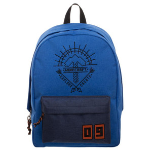 MINECRAFT BLUE BACKPACK (#190371864094)