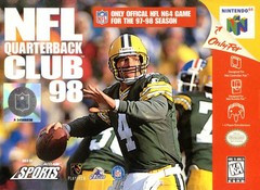 *USED* NFL QUARTERBACK CLUB 98 (#021481640943)