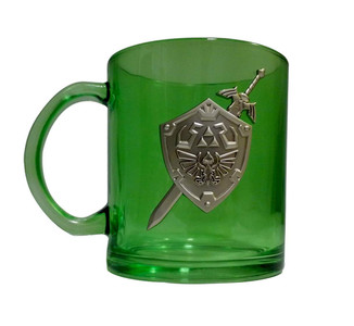 ZELDA GLASS COFFEE MUG (#841092112864)