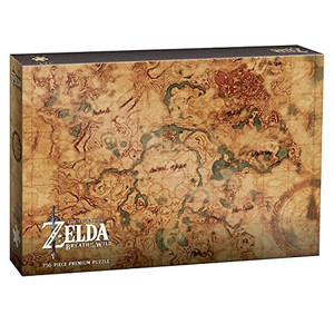 BOTW HYRULE MAP 750 PIECE PUZZLE (#700304150806)
