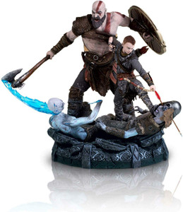 *USED* GOD OF WAR STATUE  (#416500481049)