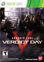 *USED* ARMORED CORE VERDICT DAY (#722674211031)