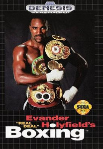 *USED* EVANDER HOLYFIELD BOXING (#010086012156)