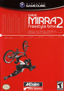 *USED* DAVE MIRRA FREESTYLE BMX 2 [T] (#021481652557)