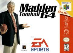 *USED* MADDEN NFL 64 [E] (#014633078671)