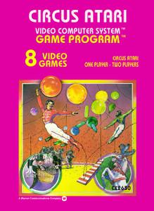 *USED* Circus Atari