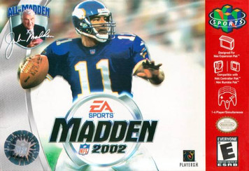 *USED* MADDEN 2002