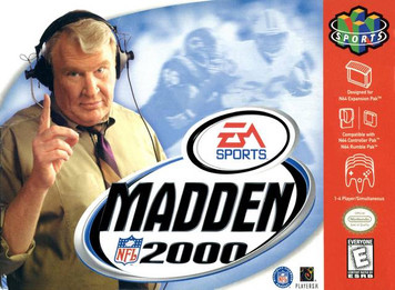 *USED* MADDEN 2000