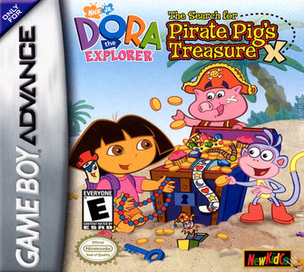 *USED* DORA THE EXPLORER PIRATE PIGS TR [EC]