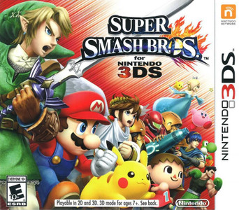 *USED* 3DS SUPER SMASH BROS