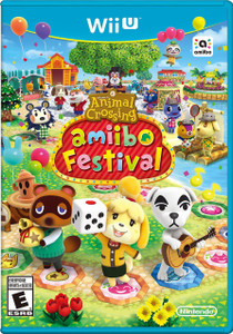*USED* ANIMAL CROSSING AMIIBO FESTIVAL [E]