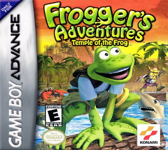 *USED* Frogger's Adventures Temple of the Frog